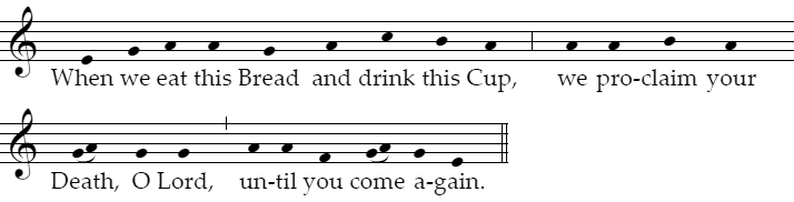 Proclaiming Jesus' Death: Till He Comes Again
